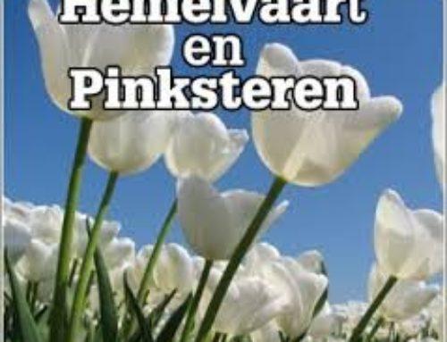 Hemelvaart & Pinksteren